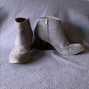 Old Navy Grey Heeled Boots